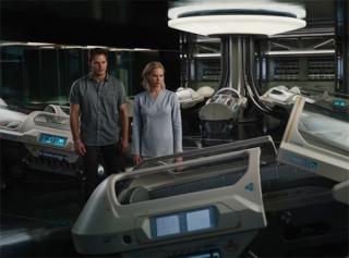 Космическая любовь: Дженнифер Лоуренс и Крис Прэтт в трейлере «Пассажиров»