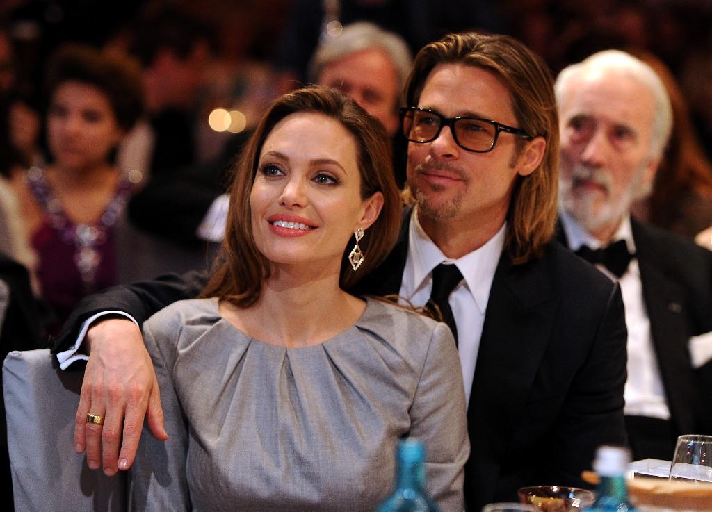 Голливудские актеры Анджелина Джоли и Брэд Питт