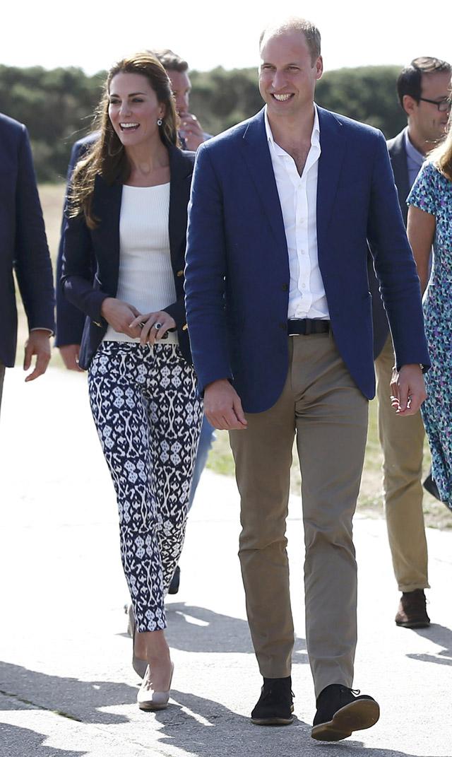 Кейт Миддлтон и герцог Кембриджский