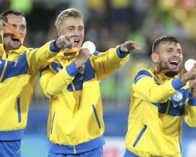 Украинцы на Паралимпиаде в Рио завоевали 117 медалей-430x480