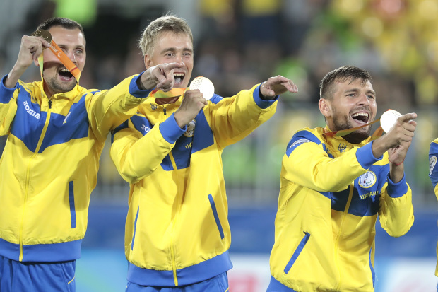 Украинцы на Паралимпиаде в Рио завоевали 117 медалей-320x180
