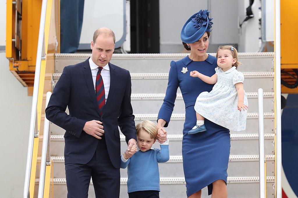 принц Уильям и Кейт Миддлтон Канада
