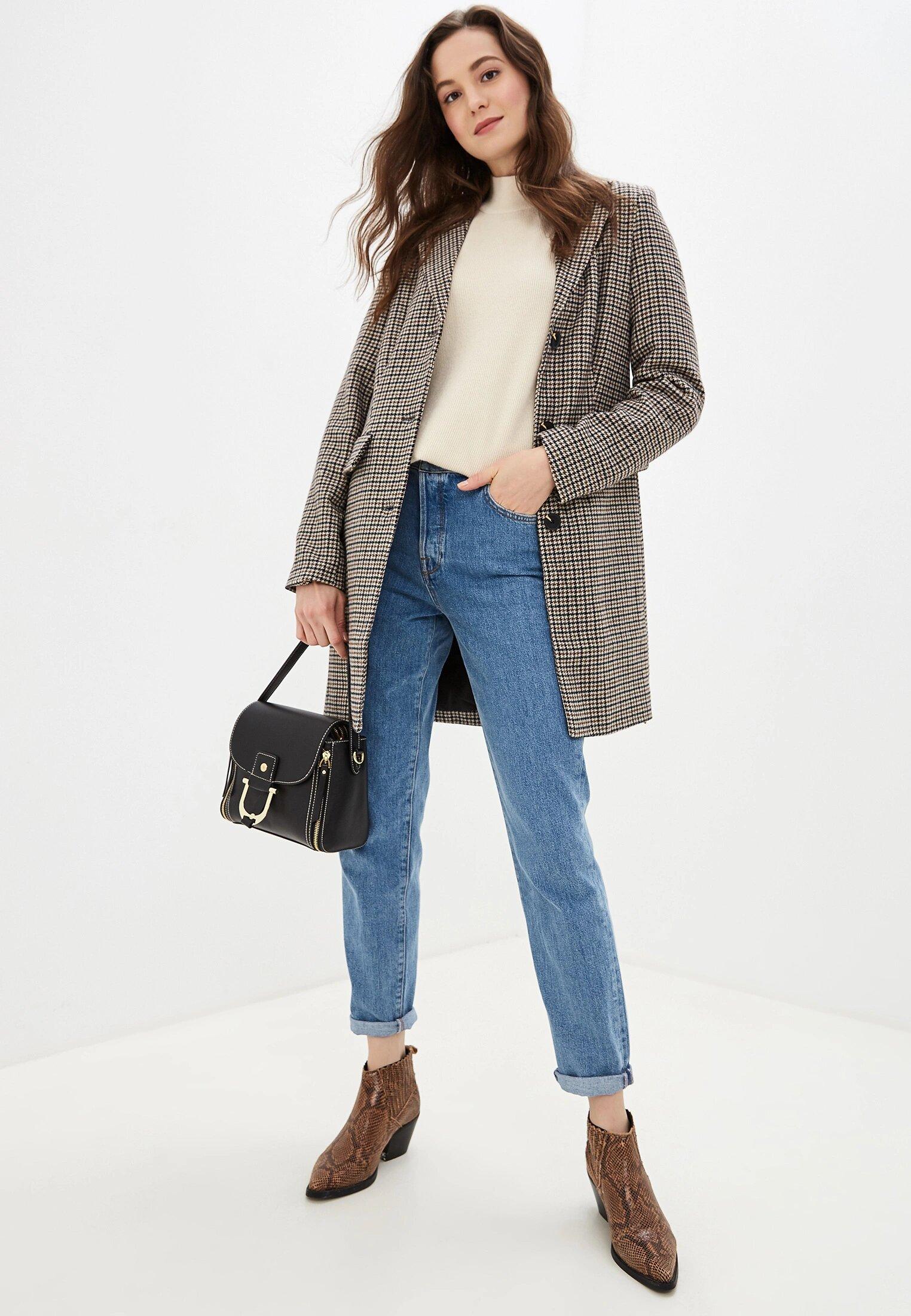 джинсы высокая посадка