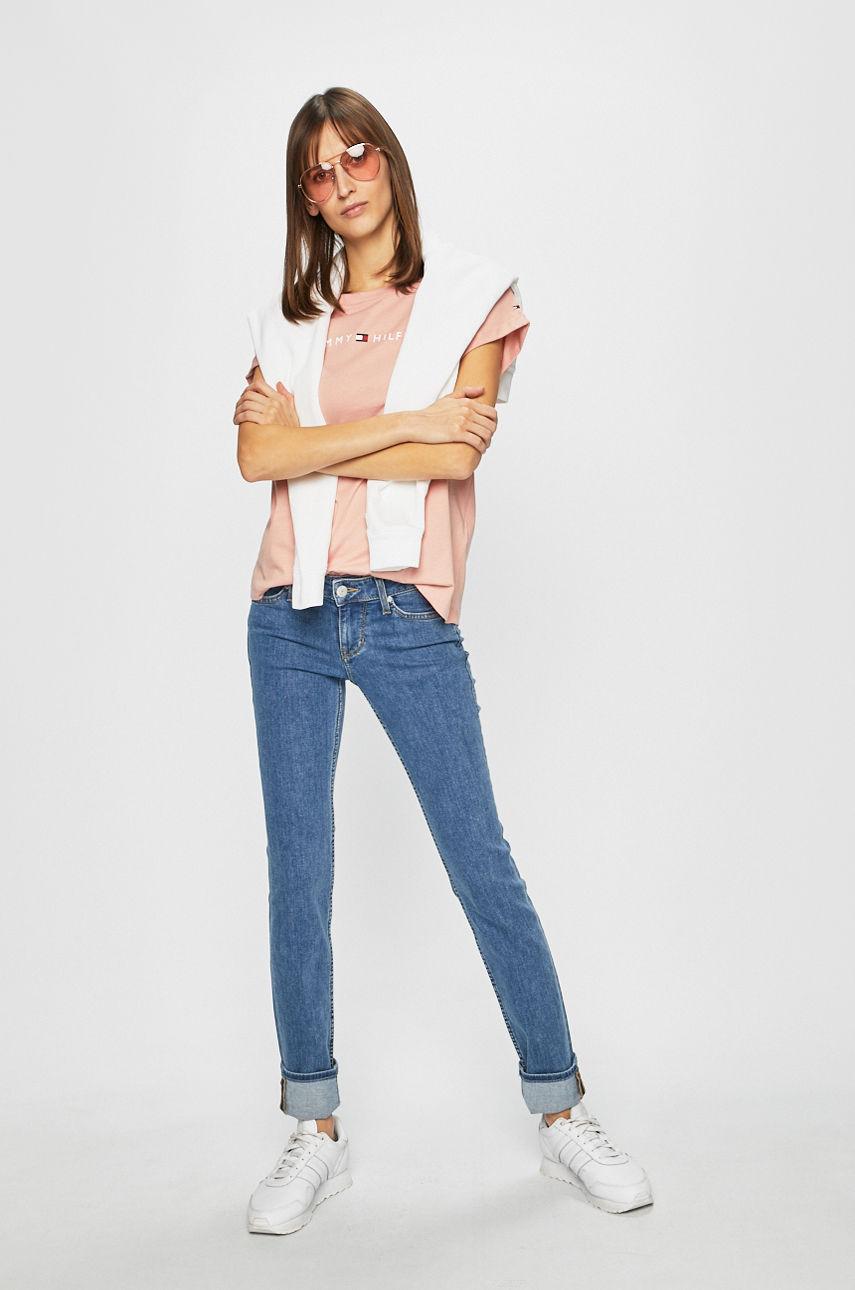 джинсы средняя посадка