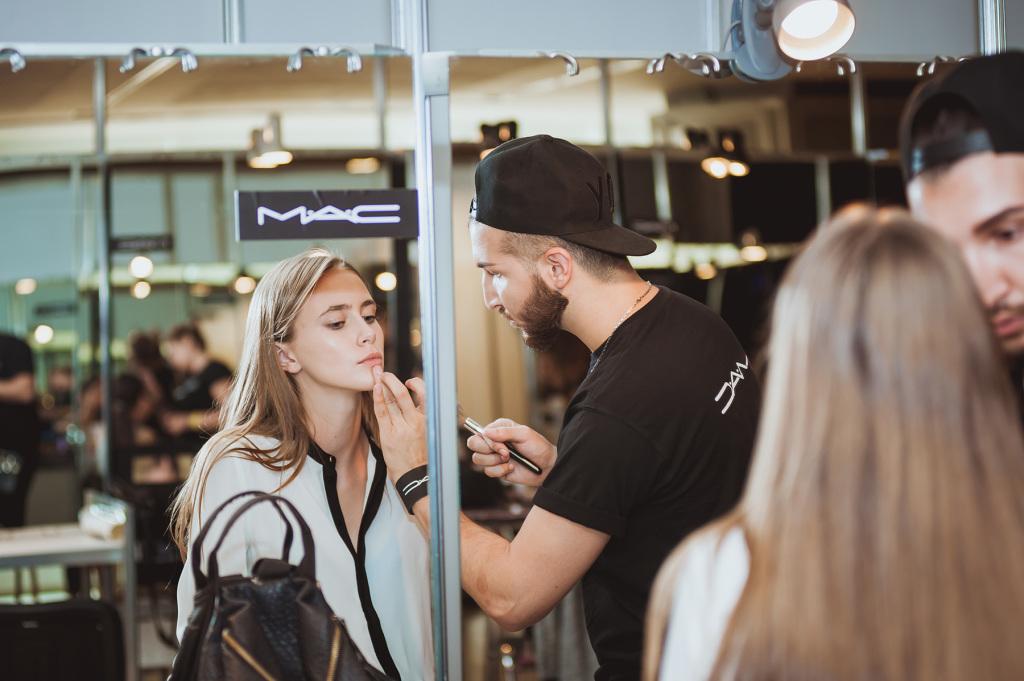 Backstage Mercedes-Benz Kiev Fashion Days