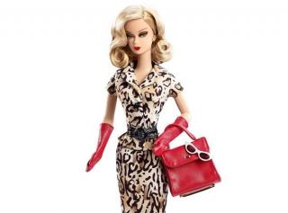 Шарлотта Деллал создала куклу Барби в ретро-стиле