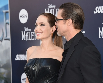 Анджелина Джоли и Брэд Питт: история любви-430x480
