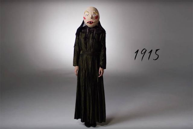 Эволюция костюма для Хэллоуина