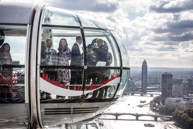 Кейт Миддлтон на London Eye
