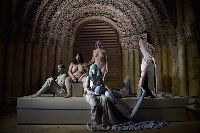Показ Kenzo на Неделе моды в Париже