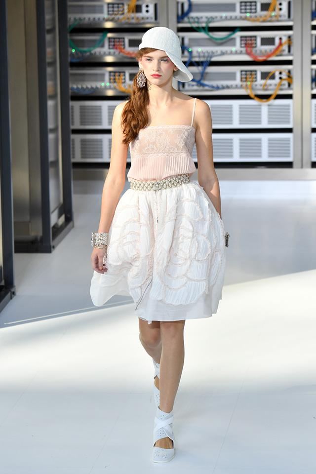 Показ Chanel на Неделе моды в Париже