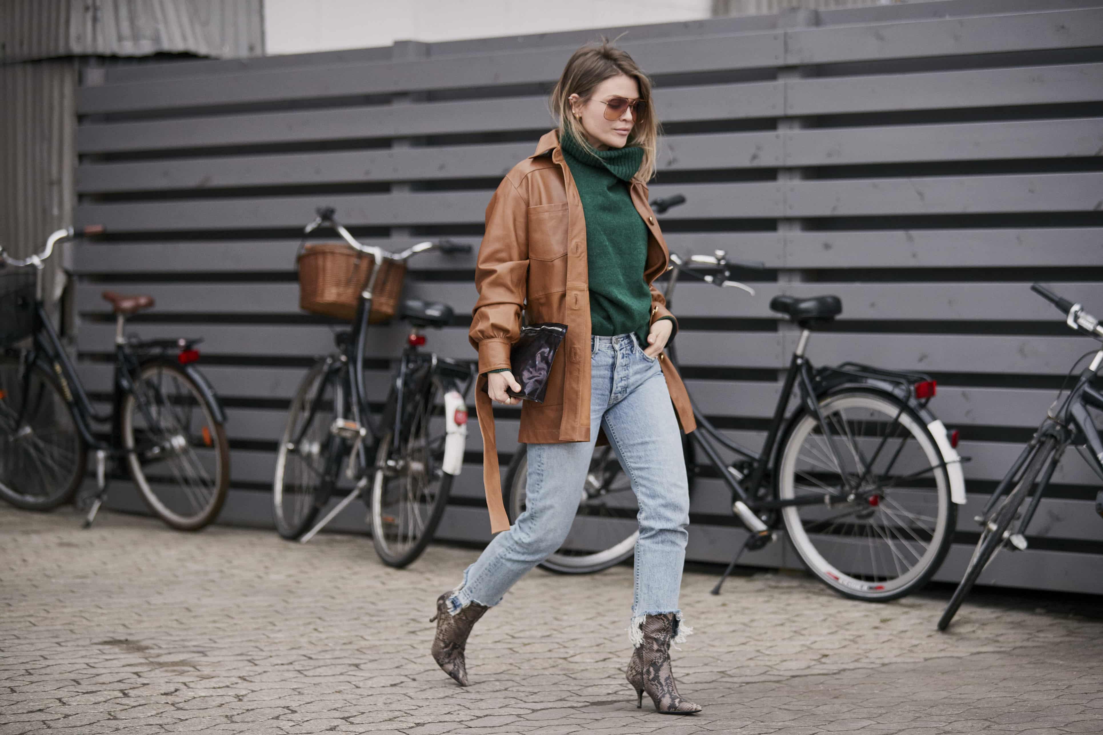 Кожаные вещи: самые модные модели сезона-Фото 1