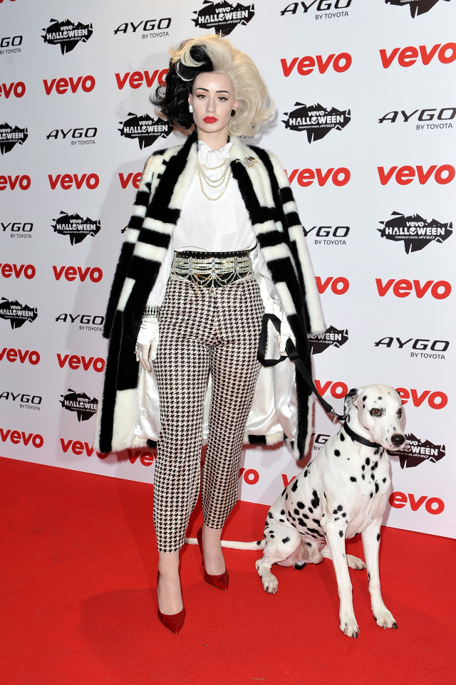 VEVO Halloween Showcase - Arrivals