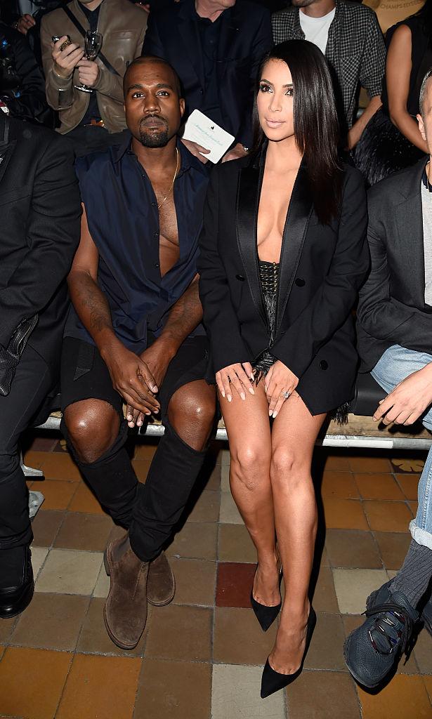 Ким Кардашьян на Парижской неделе моды
