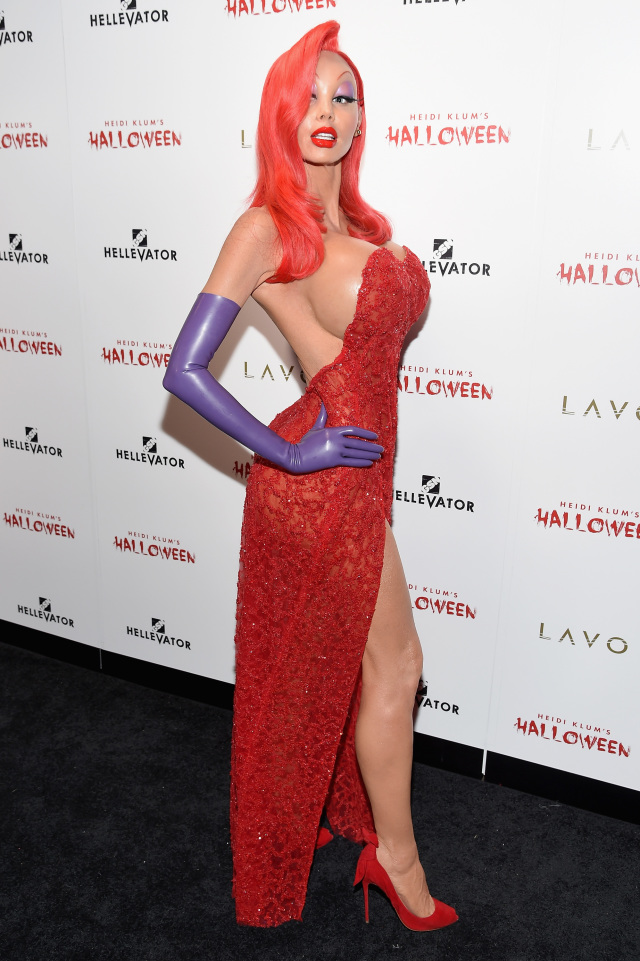 Heidi Klum's 16th Annual Halloween Party sponsored by GSN's Hellevator And SVEDKA Vodka At LAVO New York - Arrivals