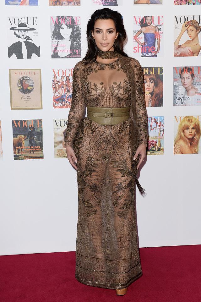 Ким Кардашьян на The Vogue Festival-2016