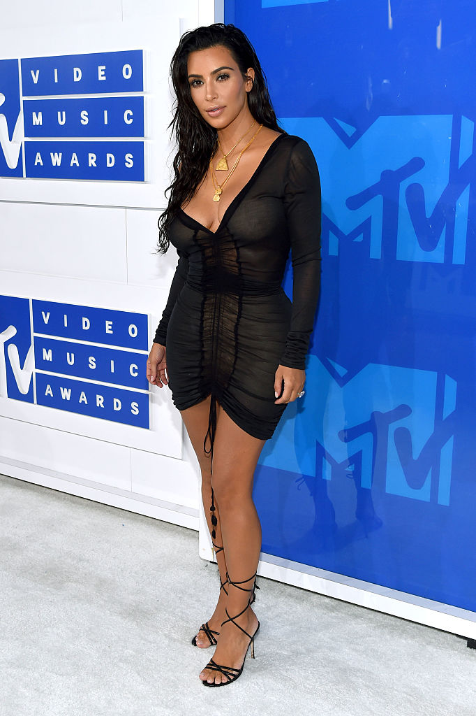 Ким Кардашьян на MTV Video Awards