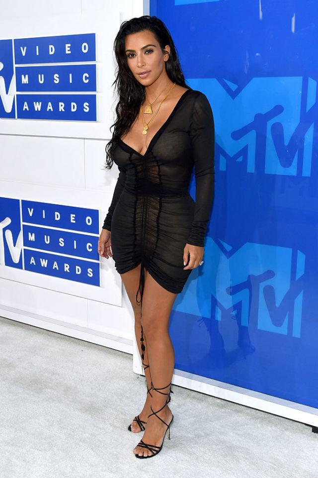 Ким Кардашьян на MTV Video Music Awards 2016