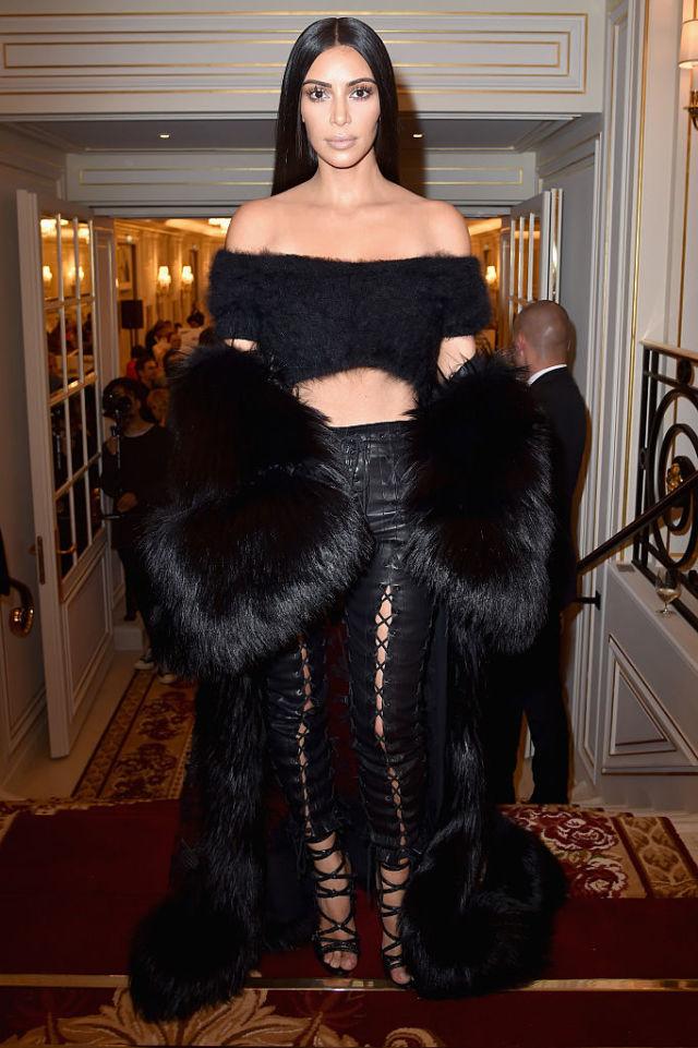 Ким Кардашьян на Buro Fashion Forward Initiative