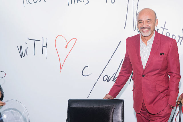 Christian Louboutin Personal Appearance At Nordstrom Downtown Seattle