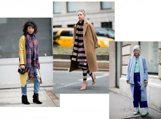 Как носить осенью шарф: 4 модные идеи