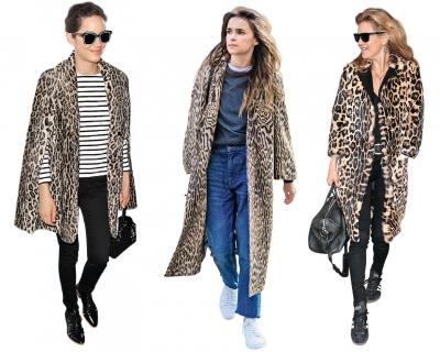 Звездный тренд: леопардовое меховое пальто-430x480