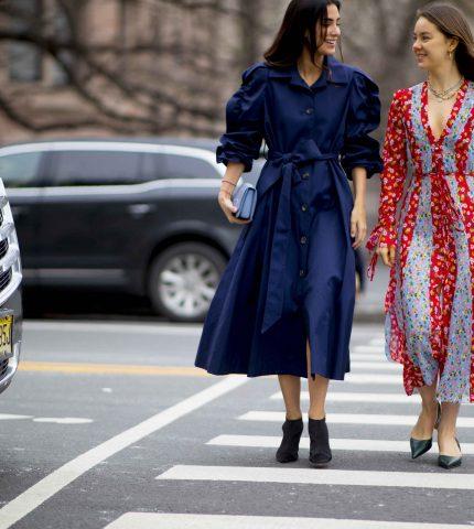 Street-style: как осенью носить платья-430x480