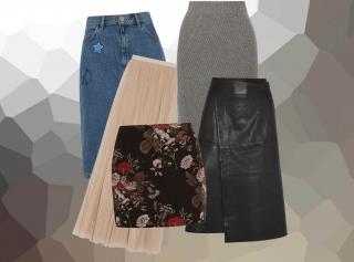 Как и с чем носить юбки: 5 фасонов для этой осени