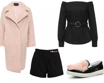 Десертное меню: с чем носить розовое пальто-430x480