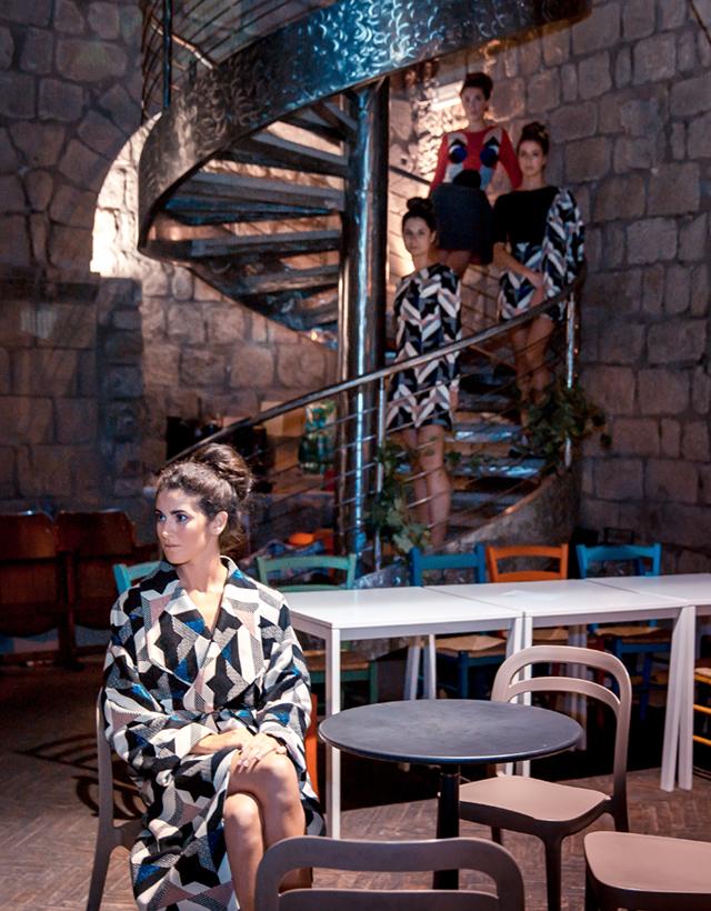 Украинский дизайнер Надя Дзяк на театральном фестивале в Италии