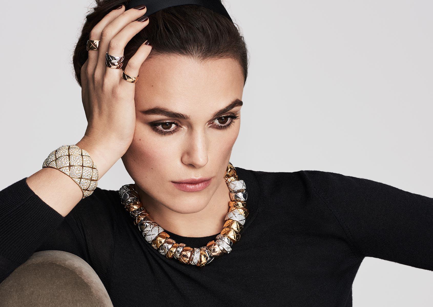 Кира Найтли Chanel Jewelry