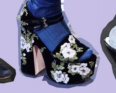 Бабушка довольна: как дизайнеры прививают нам моду на колготки и носки-430x480