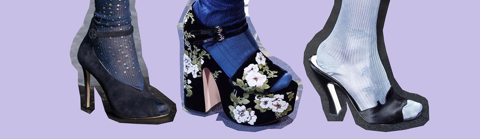 Бабушка довольна: как дизайнеры прививают нам моду на колготки и носки-320x180