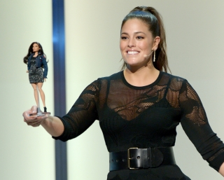 Plus-size модель Эшли Грэм стала прототипом новой Барби