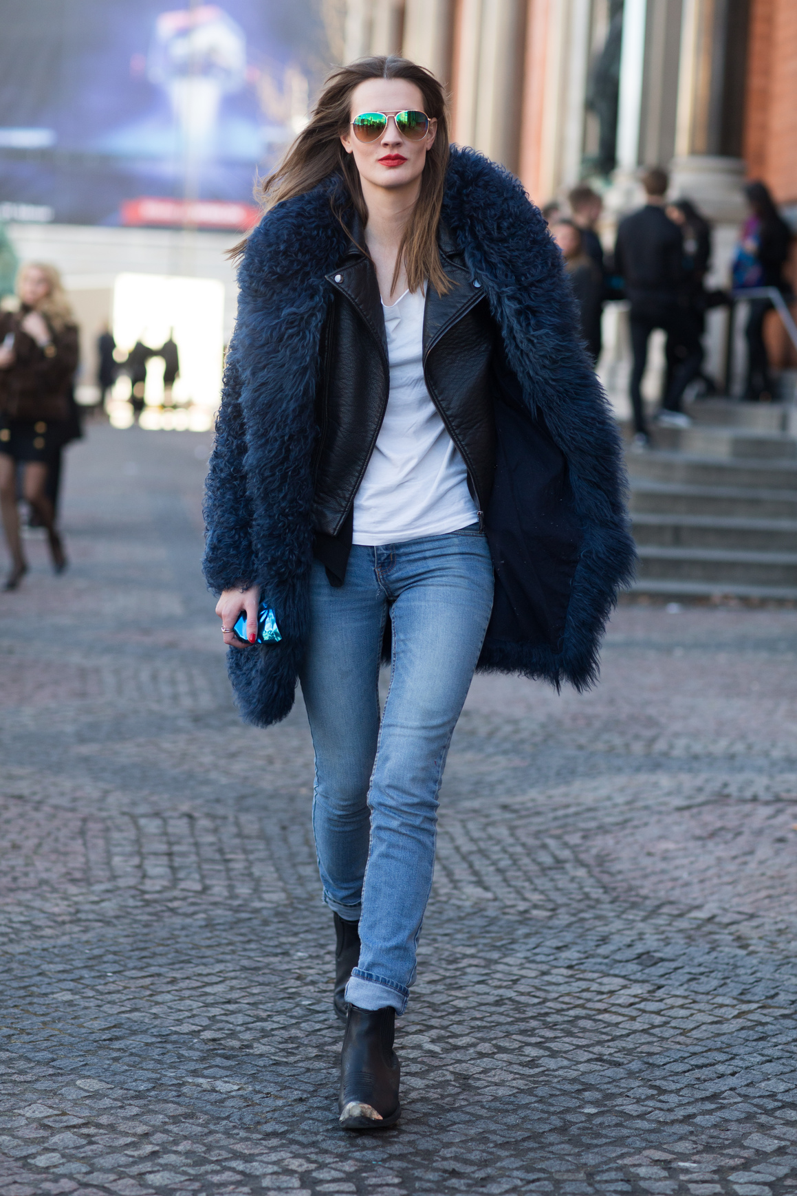 Street Style during Copenhagen Fashion Week AW 2016