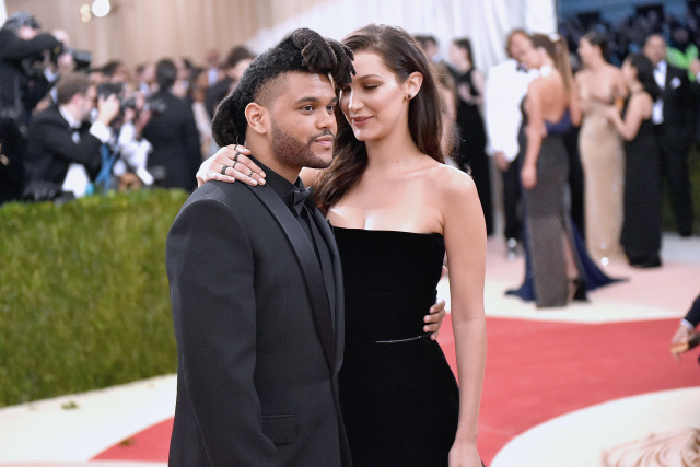 The Weeknd Белла Хадид