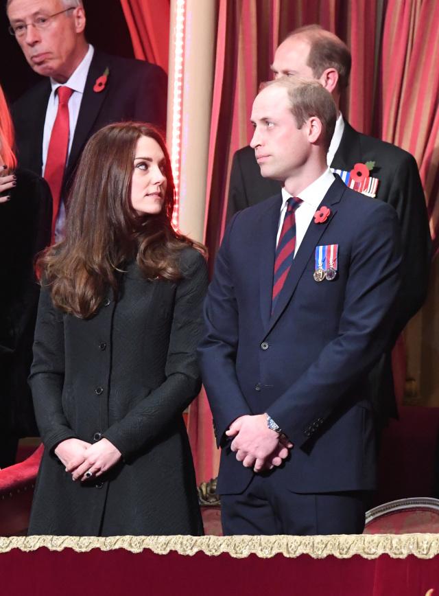 Герцогиня и герцог Кембриджские
