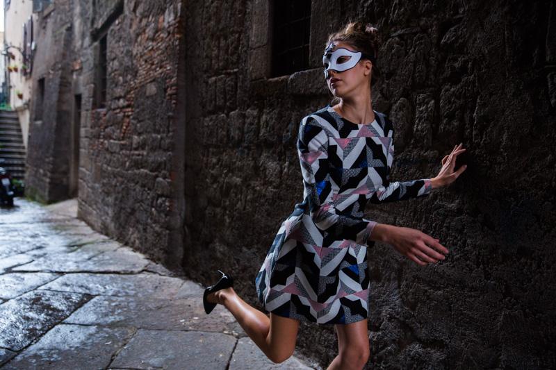 Nadya Dzyak на театральном фестивале в Италии