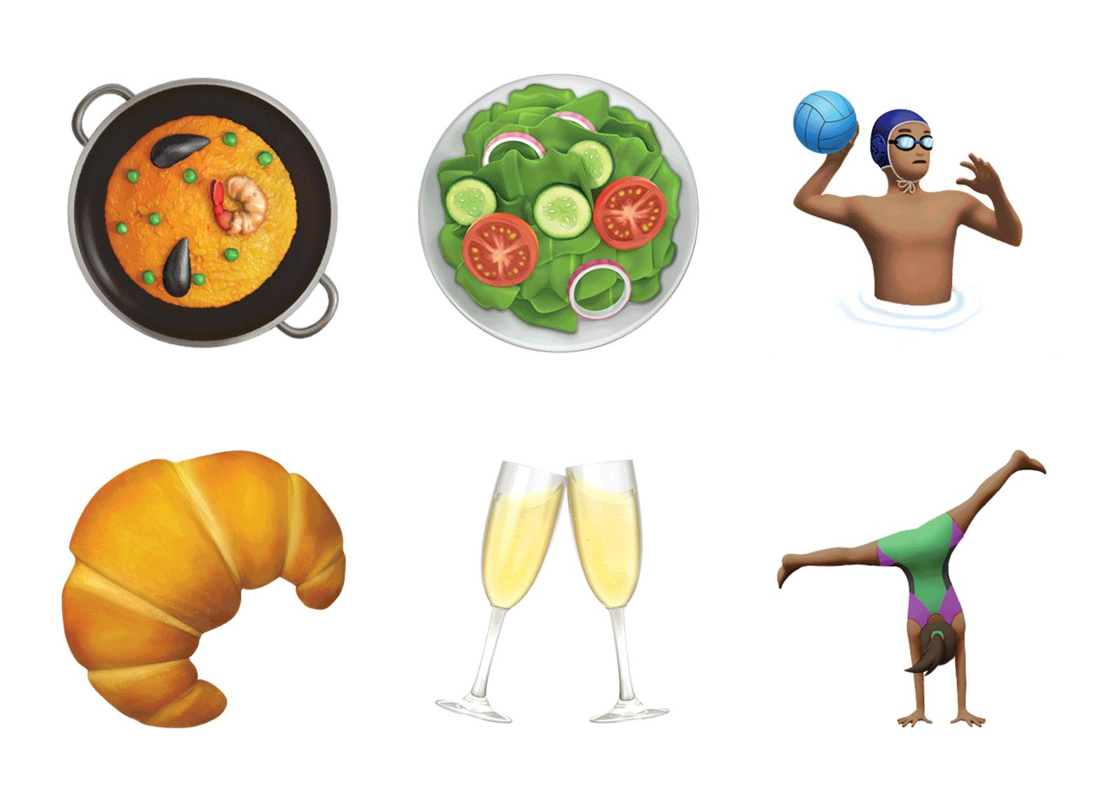 Селфи, круассан и фейспалм: десятки новых эмодзи в обновленной iOS 10.2-320x180