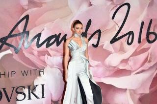 Джиджи Хадид, Лили Дональдсон, Леди Гага и Сальма Хайек:  лучшие образы красной дорожки British Fashion Awards 2016