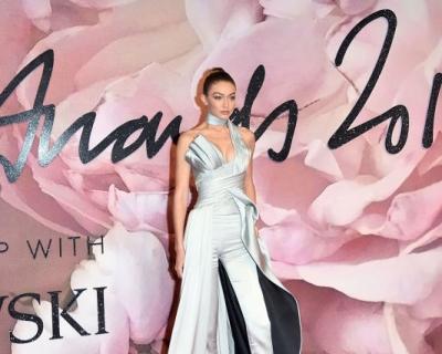 Джиджи Хадид, Лили Дональдсон, Леди Гага и Сальма Хайек:  лучшие образы красной дорожки British Fashion Awards 2016-430x480