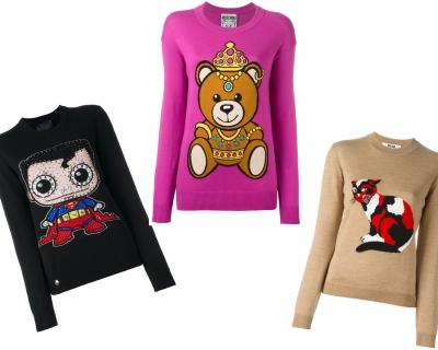 Выбор Marie Claire: 10 теплых свитеров с мультяшными узорами-430x480