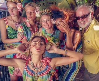 Украинская топ-модель снялась в новом кампейне Dolce & Gabbana