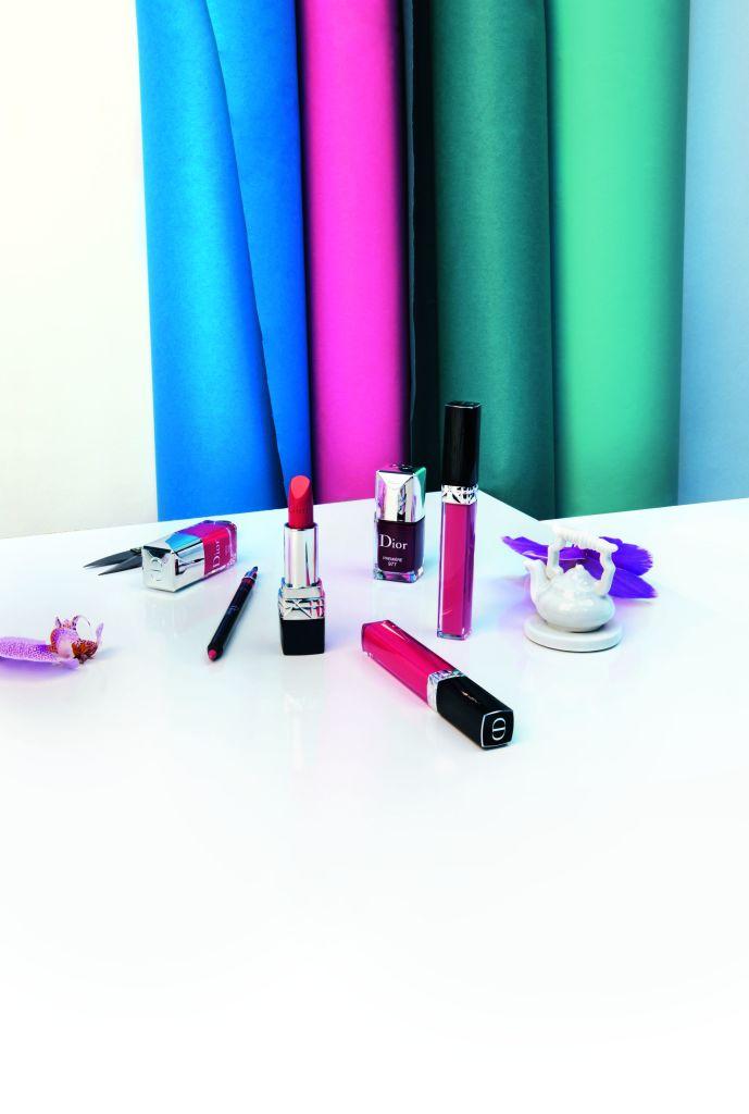 коллекция макияжа Dior фото