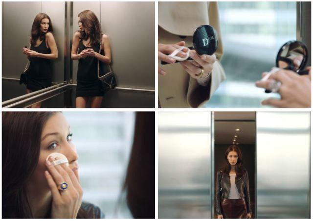 Белла Хадид в рекламной кампании Diorskin Forever