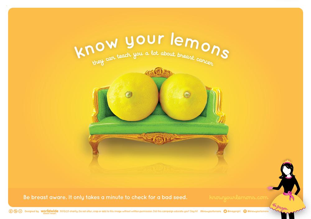 Как распознать рак груди с помощью лимонов