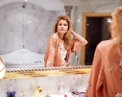Пижамная вечеринка Marie Claire x Guerlain-430x480