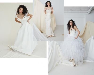 Вивьен Вествуд выпустила коллекцию свадебных платьев-430x480