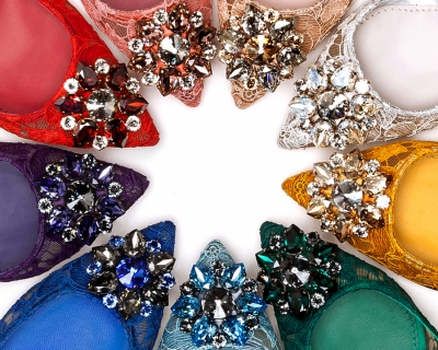 Разноцветная коллекция туфель Dolce & Gabbana-430x480