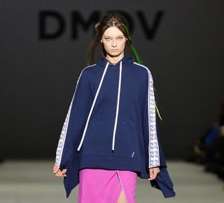Показ коллекции DMDV в рамках Украинской недели моды